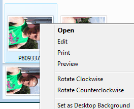 Windows Vista obrázky