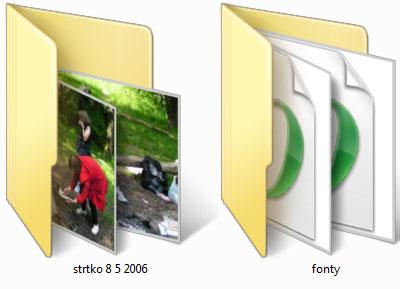 Windows Vista ikony najväčšie