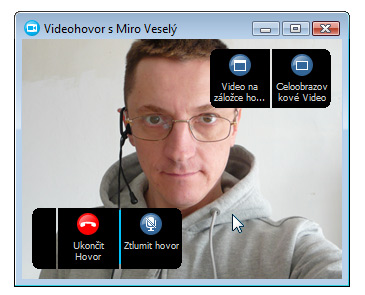 Skype - video detail